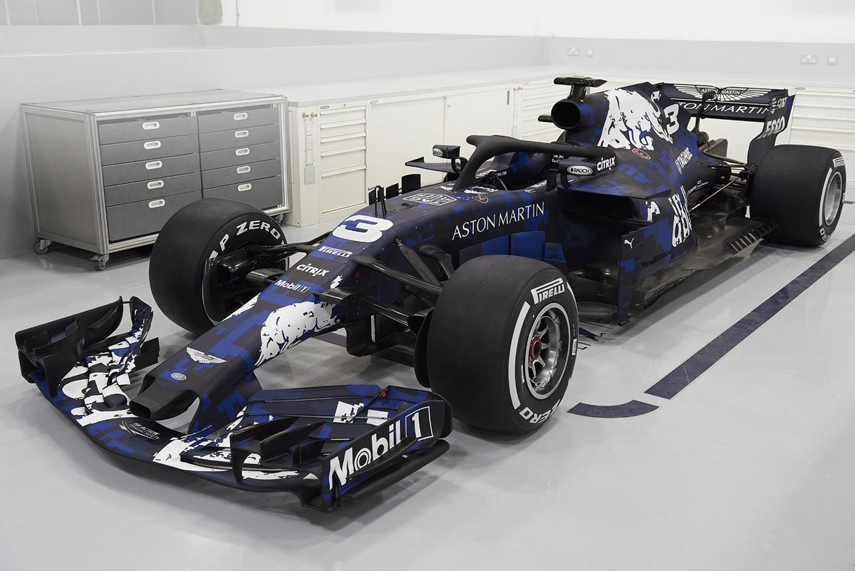 Loving the new livery 😍 #RB14 https://t....
