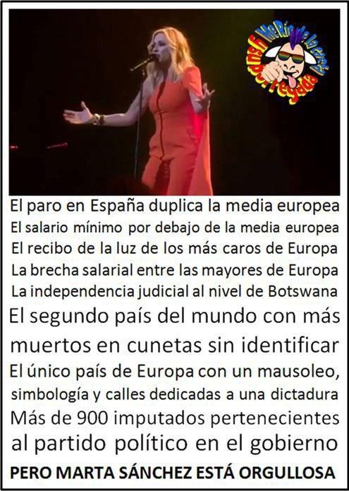 Y está orgullosa de ser española. #LaCaf...