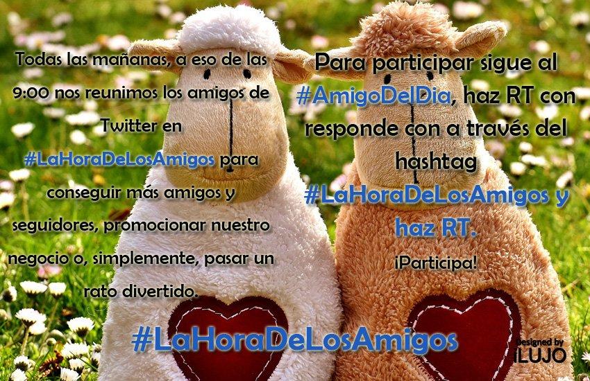 #BuenosDiasATodos empezamos nueva semana!!!, y ¡¡¡nuevo hilo!!!  Para participar sigue a @bolsosmonai @crispi08 @PymesUnidasEs y @naranjasfoios RT y contesta invitando amigos, con el hashtag  #LaHoraDeLosAmigos243 siempre siguiendo al hilo principal.