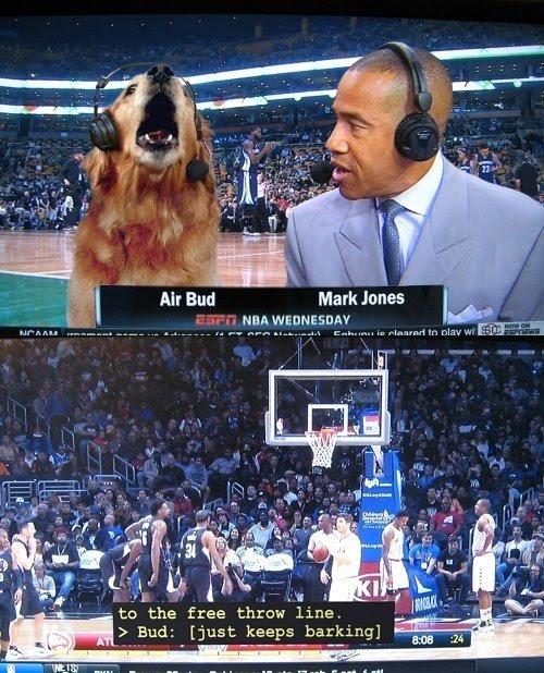 Dit is de enige reden dat ik naar basketbal wil kijken