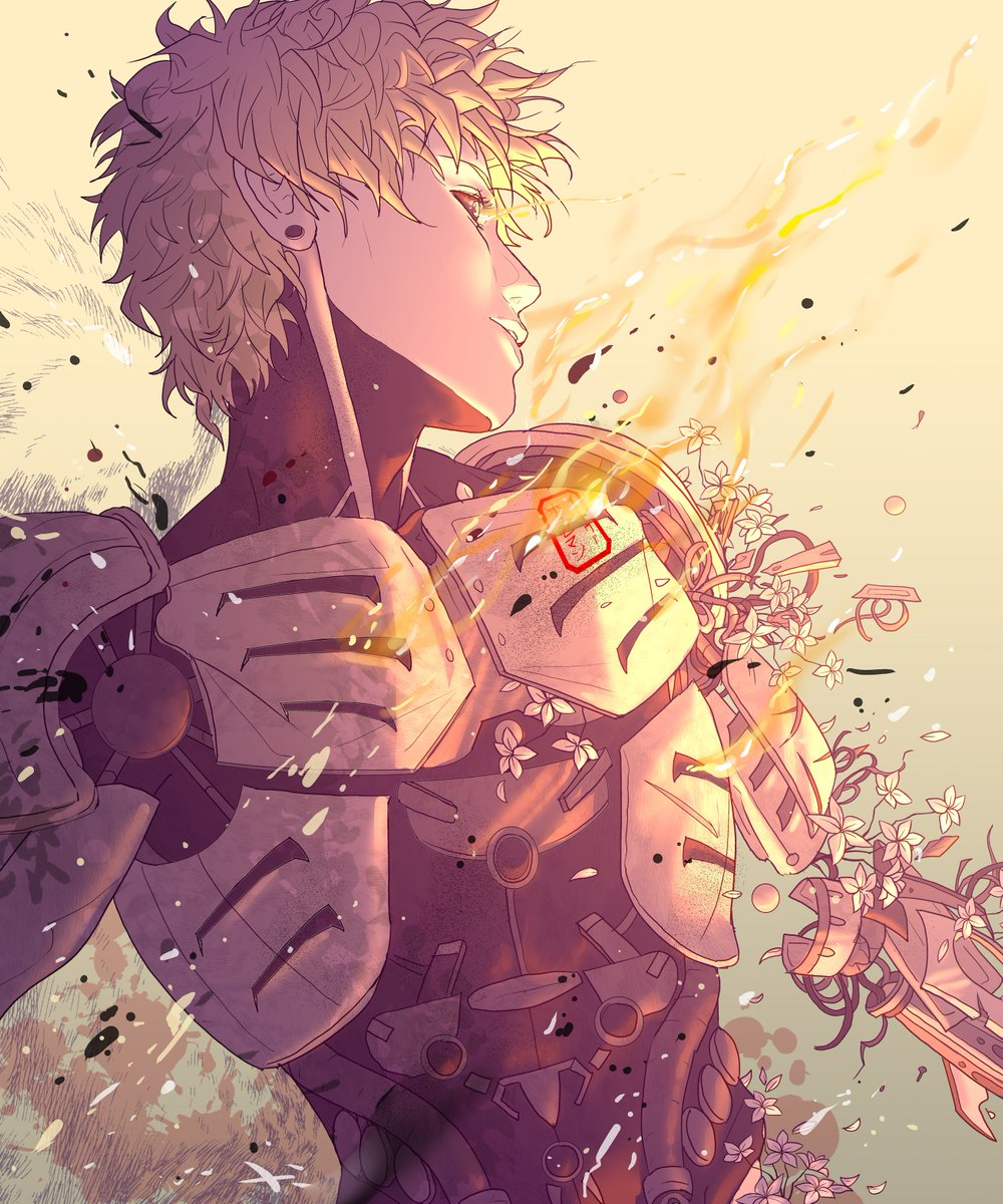 Anime art on twitter one punch man by イーヴァ