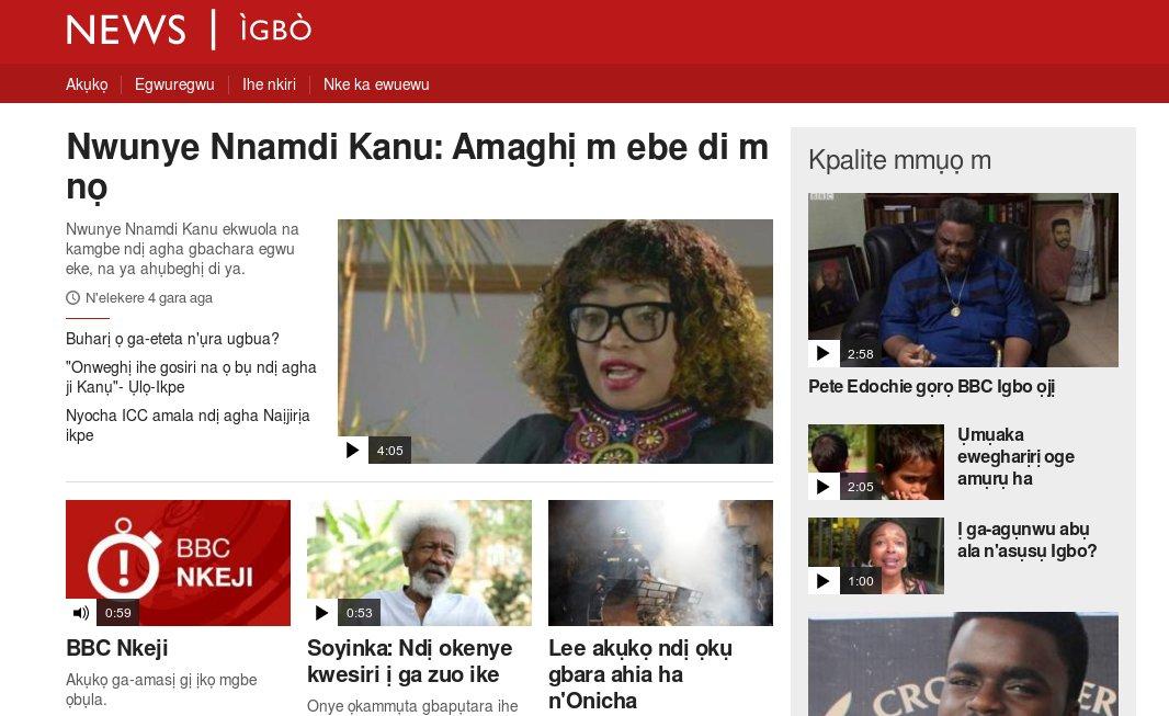 BBC Launches Igbo, Yoruba Services in Nigeria: https://t.co/ngzxAKVokD #Nigeria #BBC #Igbo #Yoruba