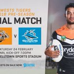 Join us at Campbelltown Sports Stadium on Saturday for a massive five game program!   Grab your tickets today: https://t.co/fUplG3tYku