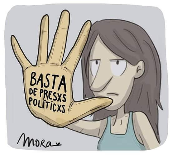 #3erCumplePresa #NadaQueCelebrar #Libere...