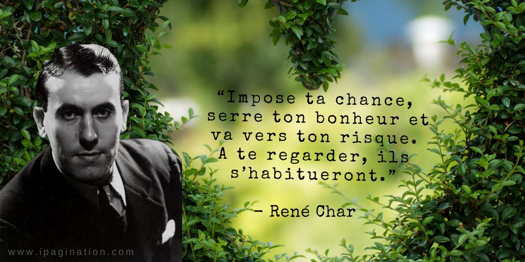 Ipagination On Twitter René Char Poète Et Résistant