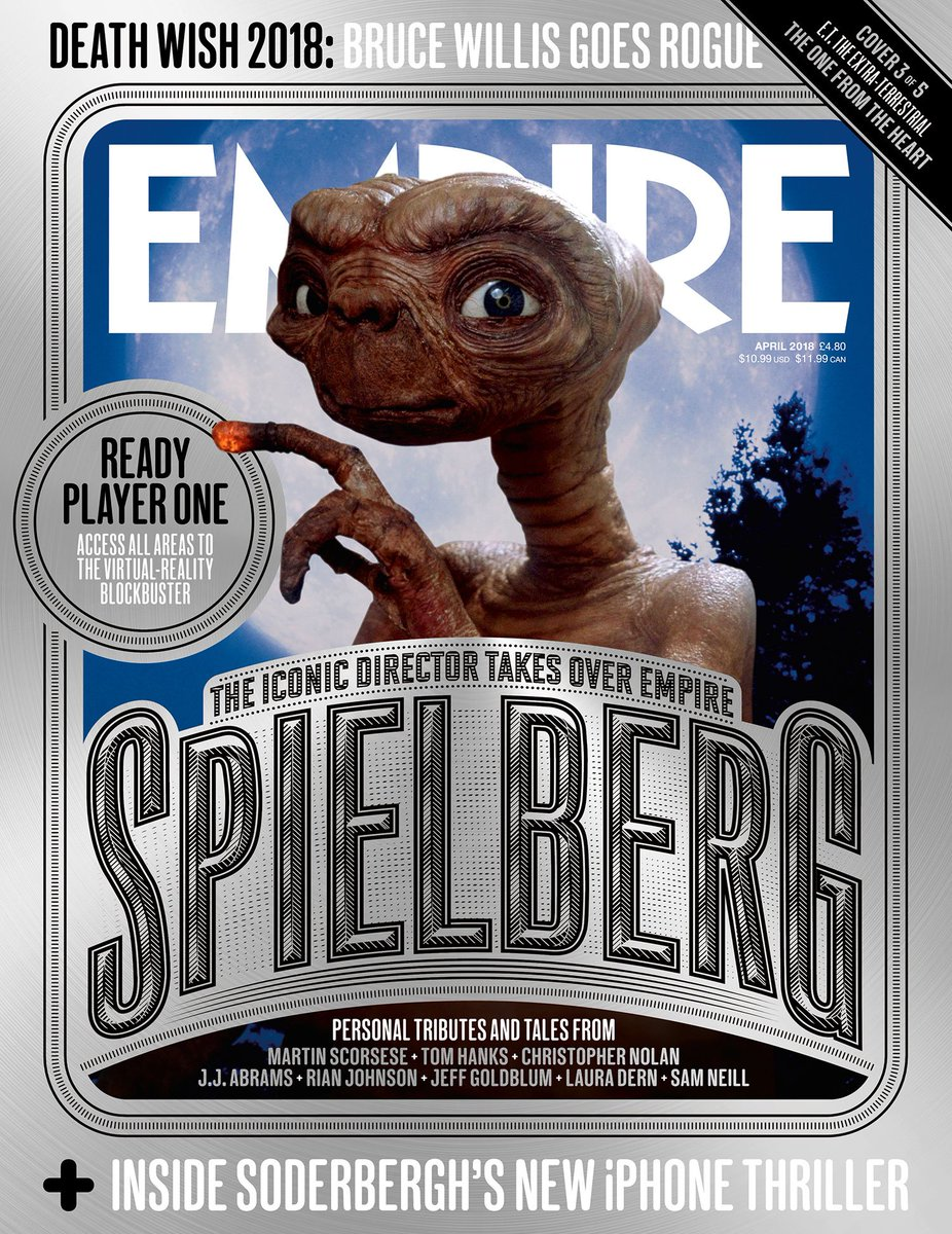 3) E.T. The Extra Terrestrial - The One...