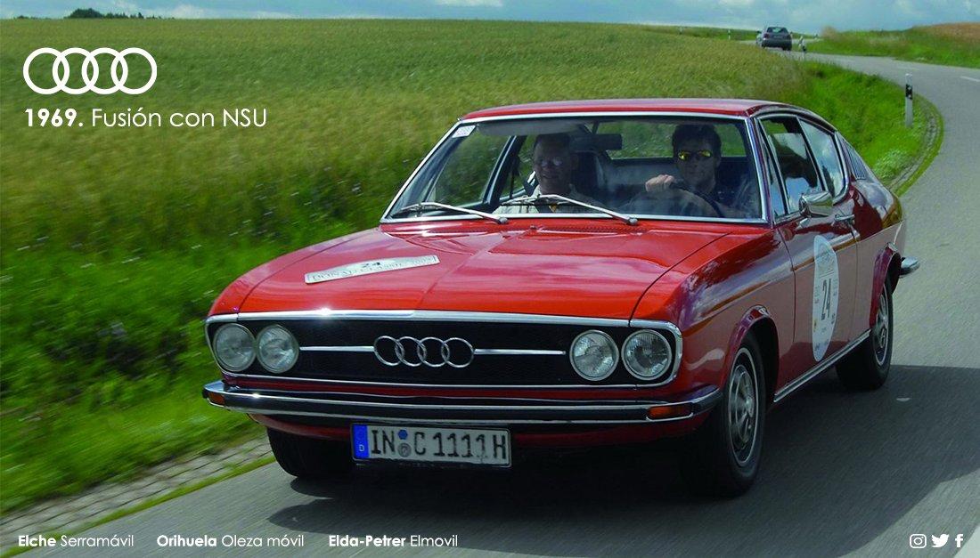 Audi Serramovil On Twitter En 1969 Volkswagenwerk Ag Consiguio