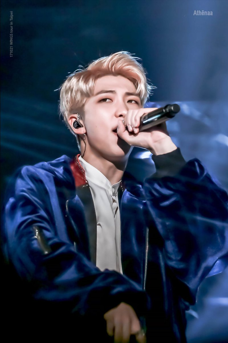 171021 WINGS tour in Taipei  #김남준 #RM #B...