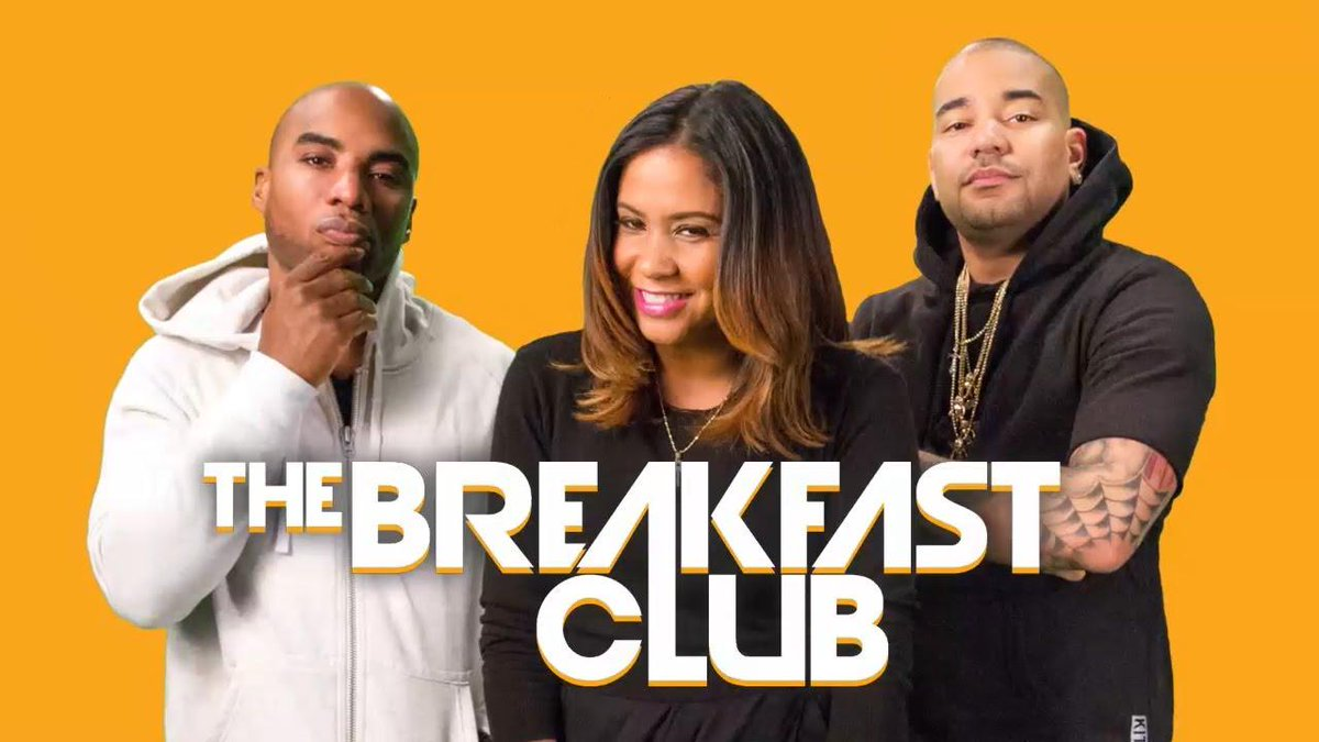 Good morning everybody!!!! Its time for #TheBreakfastClub!!!