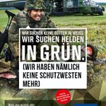 #Bundeswehr liefert Updates der alten Plakatmotive.