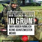 #Bundeswehr liefert Updates der alten Plakatmotive.