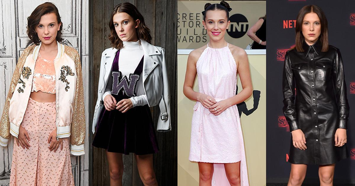 Millie Bobby Bown's style rise in 20 pictures https://t.co/GoHc3oNhUW https://t.co/pec335aUXN