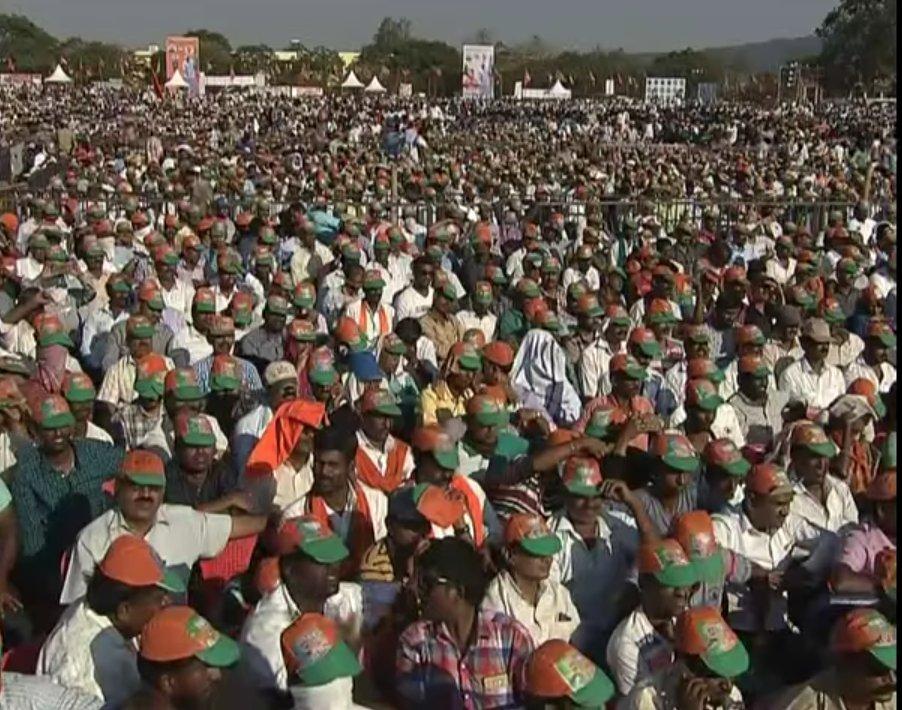Need I say more?  #ModiTransformsKarnata...
