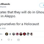 """The Weasel"" fails to mention that East Ghouta, like East Aleppo before liberation, is a major terrorist hub. But then again what can we expect from a man who makes his living whitewashing groups like the Syrian al-Qaeda affiliate, Hay'at Tahrir Al-Sham (HTS)? #Syria"