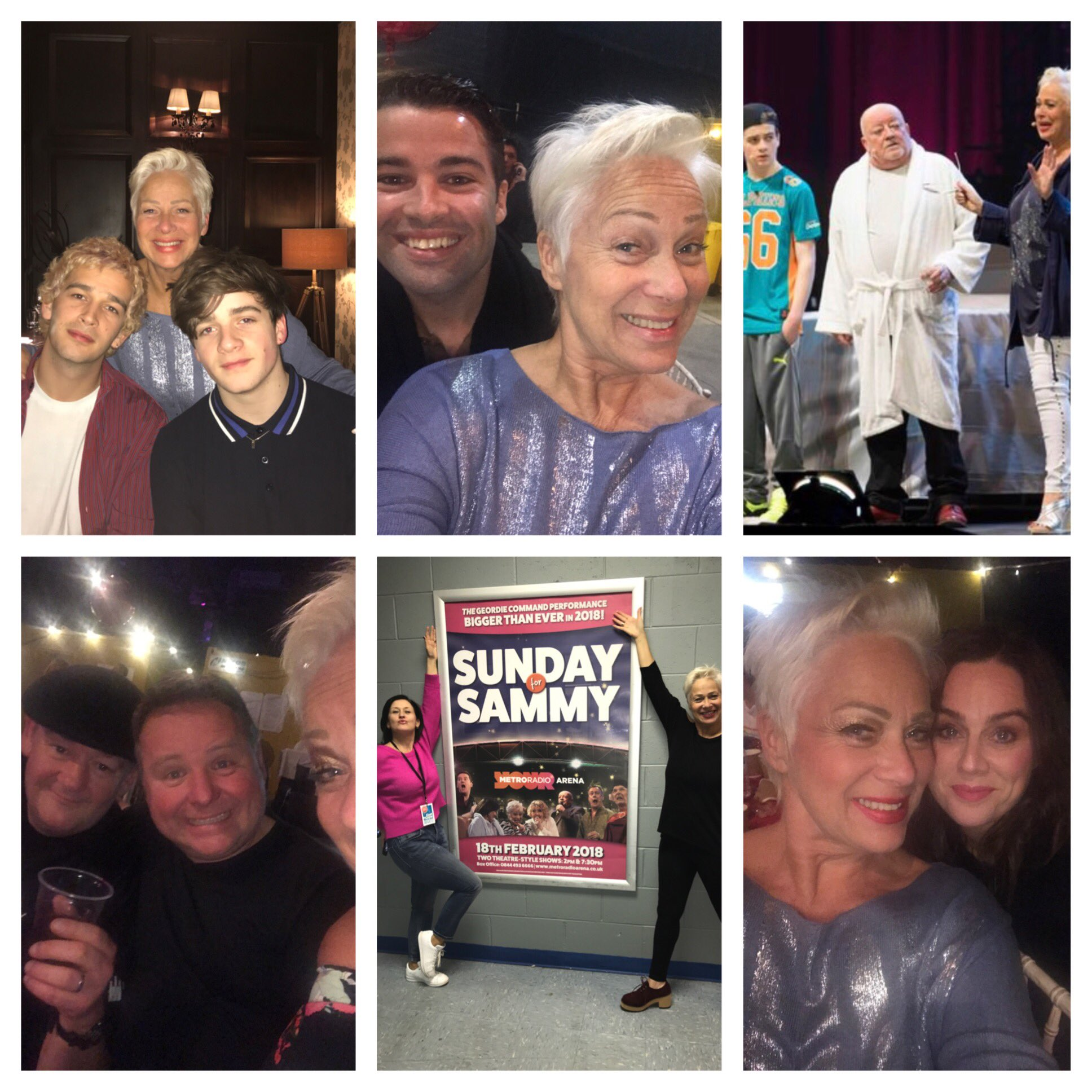 Some wonderful moments from @sundayforsammy last night! Never read such amazing comments!!! 👏👏❤️❤️ https://t.co/piEXsnwIam