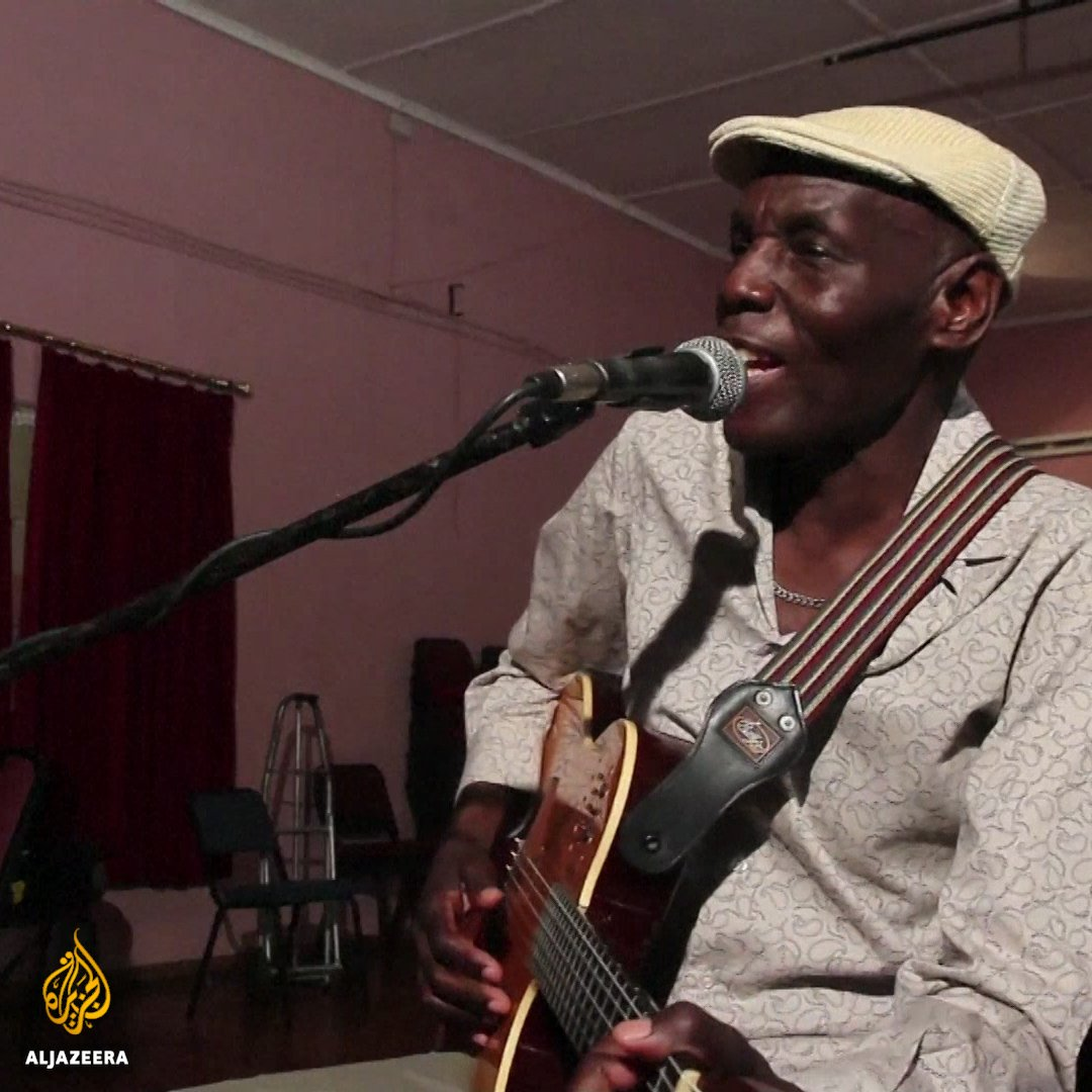 This self-taught musician in Zimbabwe is...