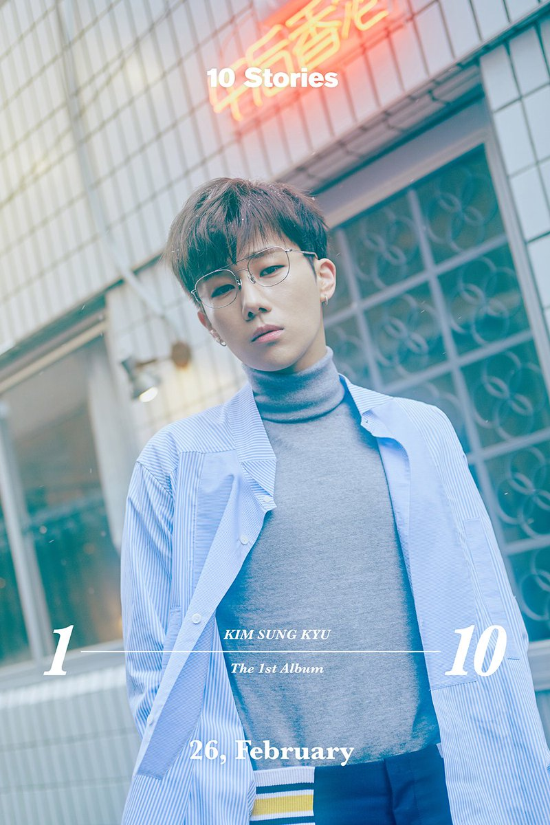 Kim Sungkyu 10 Stories Album And True Love Mv Out Allkpop Forums
