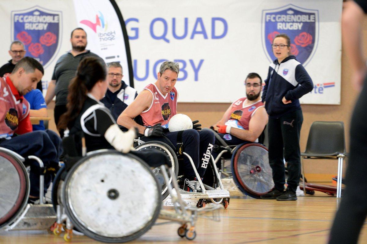 Le FCG Quad Rugby qualifié pour les phas...