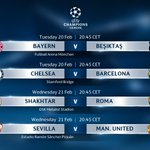 This week's #UCL fixtures! 😍  Most exciting game? 👌
