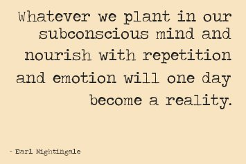 The mind is a powerful tool. Plant and n...