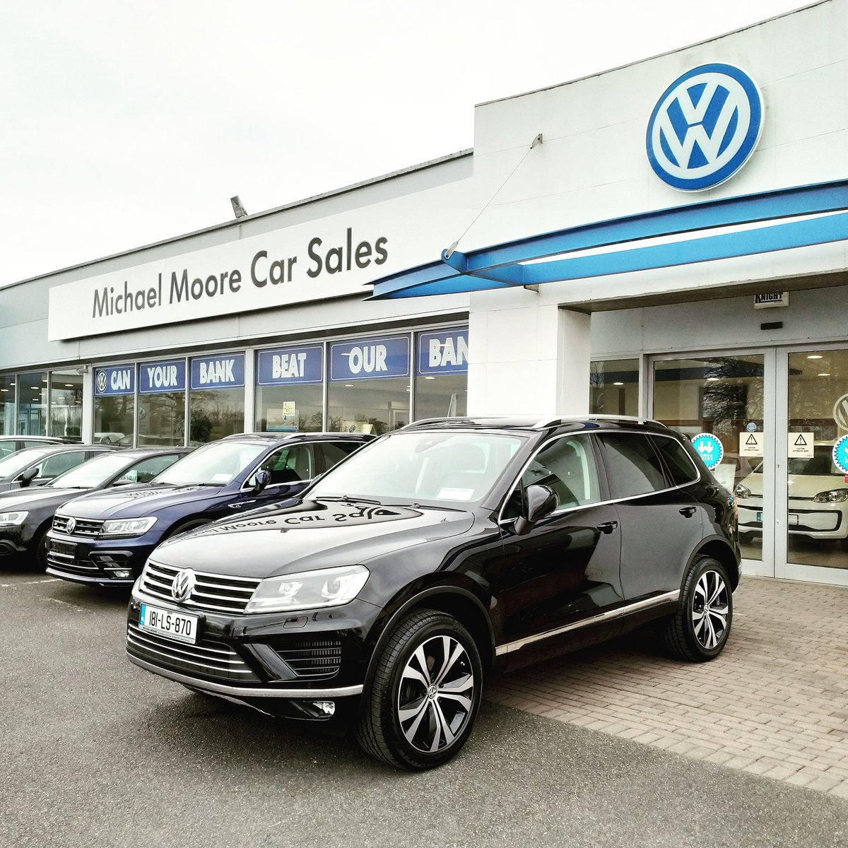 Michael Moore Vw On Twitter A New Volkswagen Touareg Getting