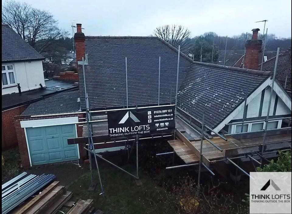 Our Latest Project In Chingford Avenue Farnborough Is Off The Ground Conversion Will Feature A Hip To Gable Loftconversion With Two Dormers