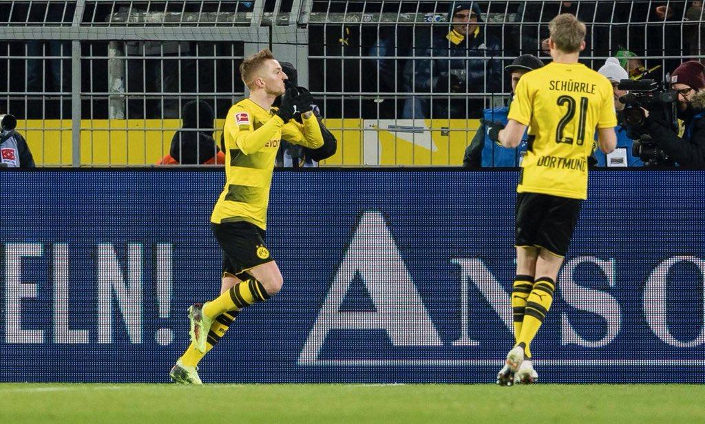 Borussia Dortmund 1-1 Augsburg Highlights & Goals Video - Bundesliga - 26 February 2018