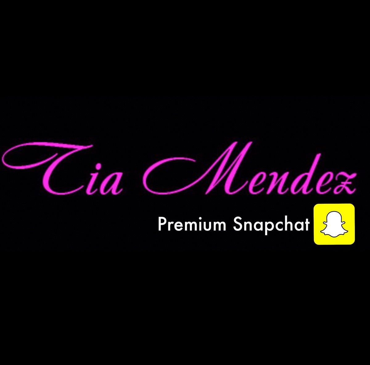 Snapchat Tia Mendez nude photos 2019
