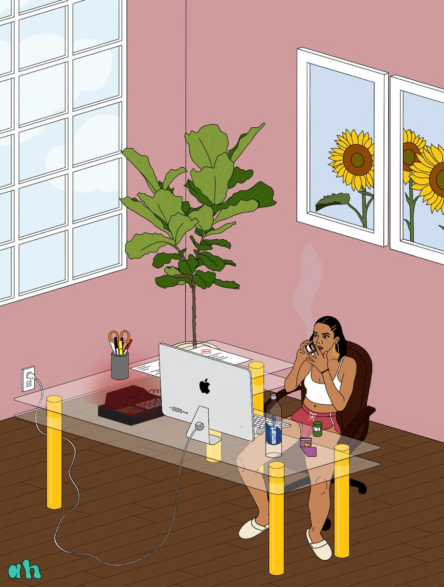 me in a few years accepting money calls in my home office💸💸💸 drawing be me