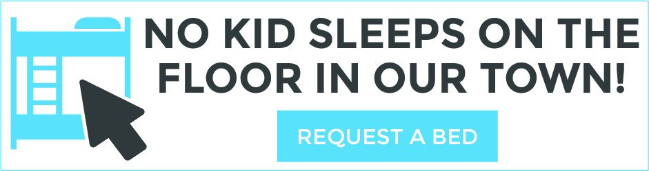 We love helping families in need. If your child would benefit from a new bed, fill out an application here:  https://hubs.ly/H09wFDn0
