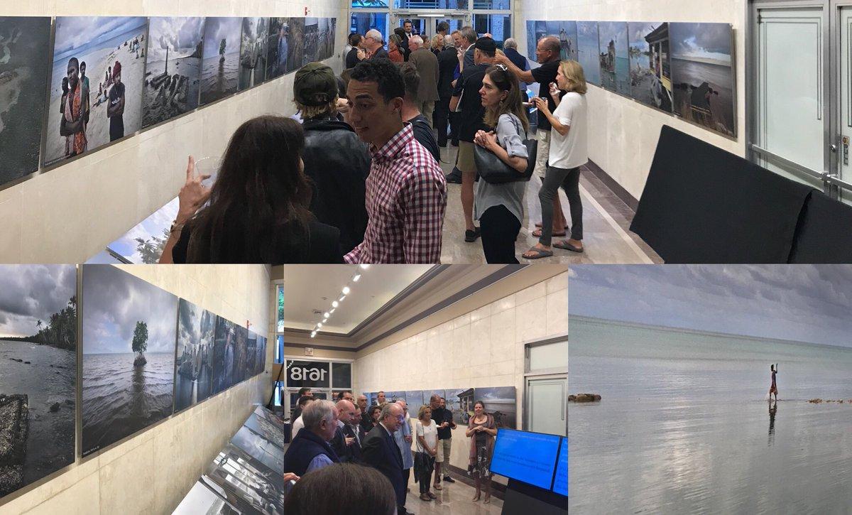 Netherlands Emby On Twitter Photographer Mediakadir Miami Beach Urban Studios Open Exhibition Human Consequences Of Sealevelrise