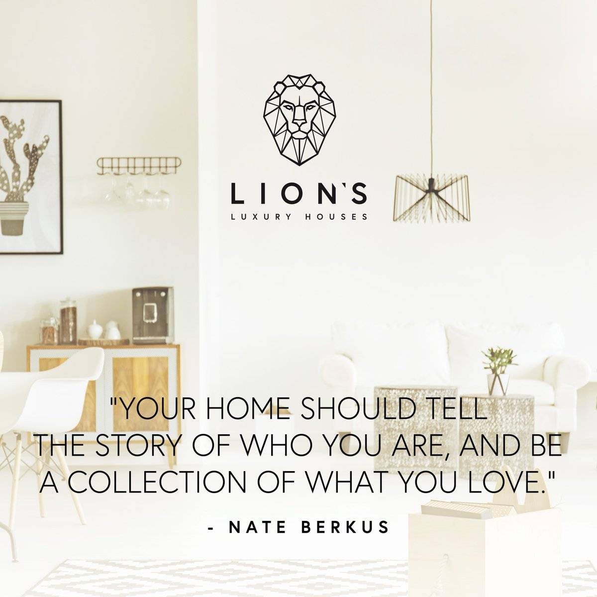 Lions Luxury Houses On Twitter Your Home Should Tell The