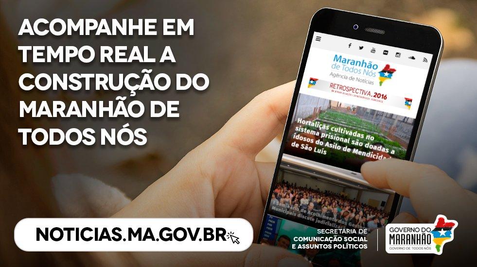 📱 Saiba tudo sobre a construção do #MaranhãoDeTodosNós através de um click ➡ https://t.co/9rEBvxLR2U  #GovernoDeTodosNós