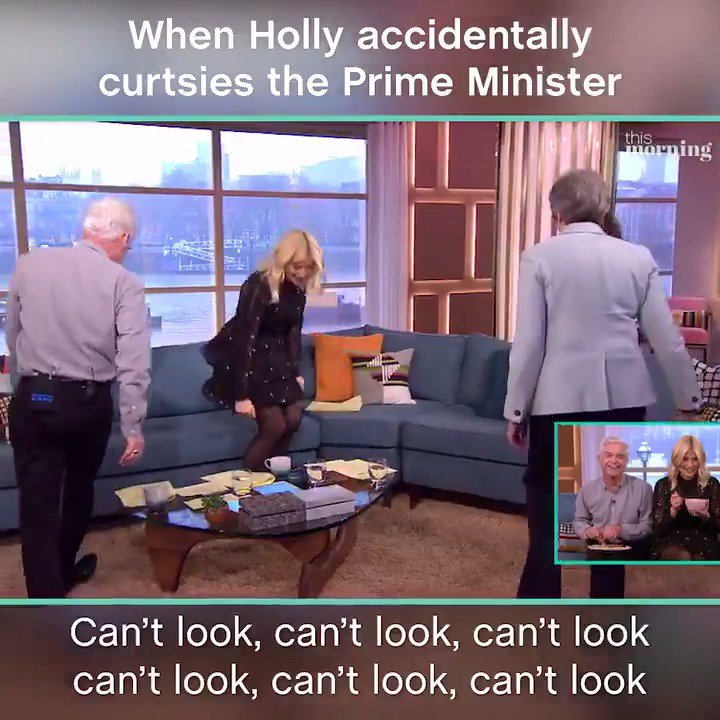 'I think I panicked' 😂  It's @hollywills...