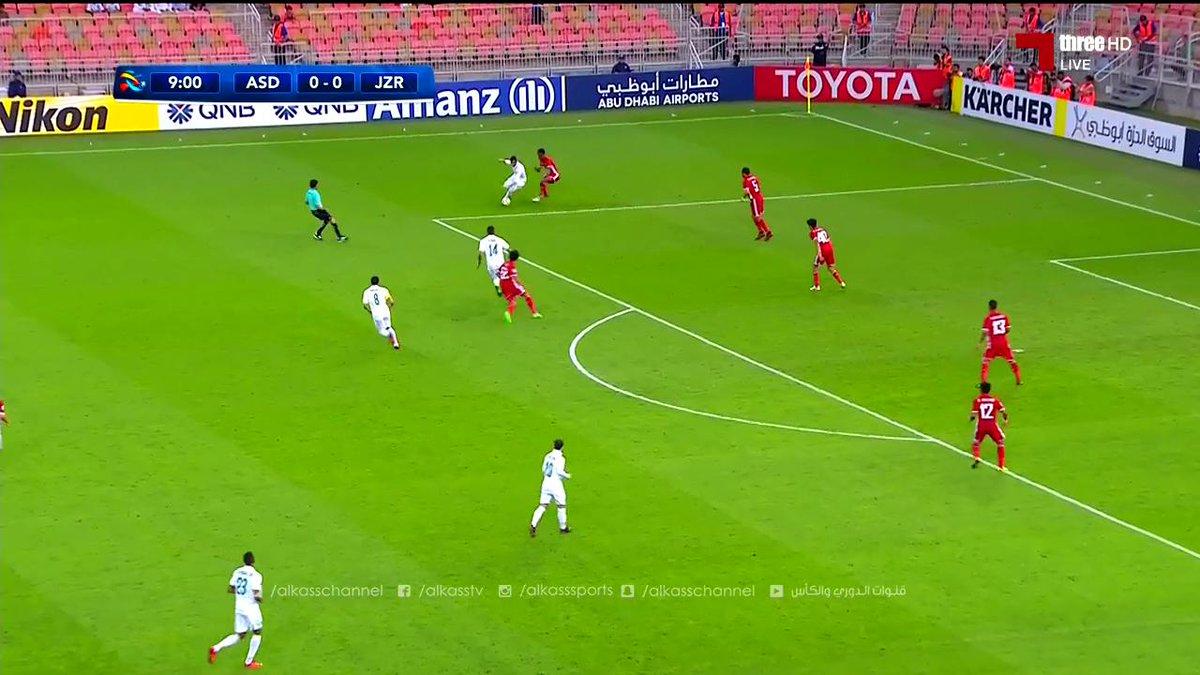 أهداف مباراة: الأهلي السعودي 2 × 1 الجزي...