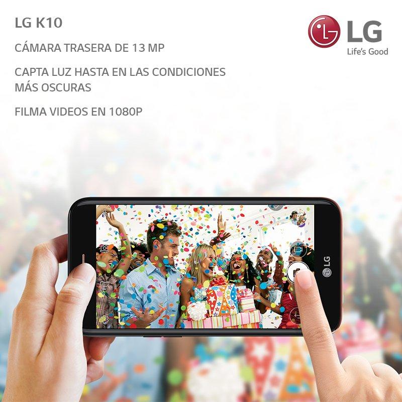 Captá los mejores momentos de tu día a día con la mejor calidad posible 📸  La cámara de 13 megapíxeles del LG K10 hace que cada instante sea compartible con todos 🚀 https://t.co/HCk2TfruTD