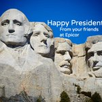 Wishing you a wonderful Presidents' Day.