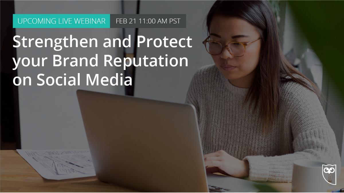 Going viral isn't always a good thing.  Watch our webinar and learn how to keep your brand safe on social in 2018: ow.ly/R83i30is4Sb