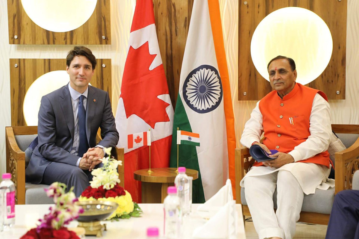 More and more countries need to do more to welcome immigrants:Canadian PM in Gujarat