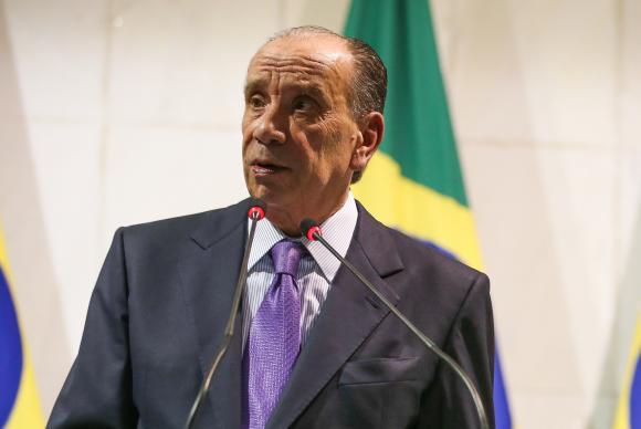 Em evento no Itamaraty, Aloysio Nunes diz que Brasil mantém portas abertas para receber refugiados. https://t.co/R831HPxcAC 📸Valter Campanato/@agenciabrasil