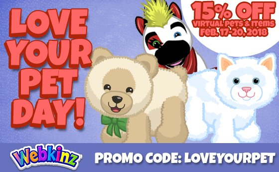 Learn These Webkinz Pets 2018 {Swypeout}