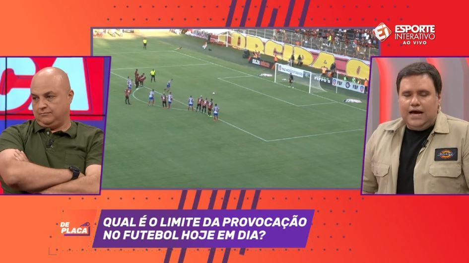 ... provocação no futebol  participe com a gente na ! o assunto agora do  programa são os atos lamentáveis que aconteceram no clássico entre vitória  x bahia! ad1a33f125660
