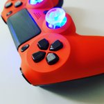 Image for the Tweet beginning: PS4 V2 #customcontroller By #TRUModz  #moddedcontroller