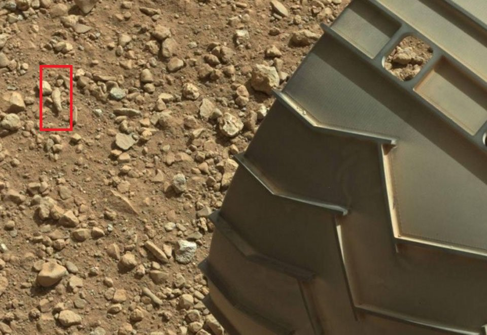 De dedo a pato! Olha só o que a NASA 'encontrou' em Marte https://t.co/BpAlXtqhAL