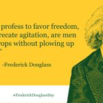 Today, Advancement Project's offices are closed in recognition of Frederick Douglass Day. Today we honor Douglass' legacy and our ancestors' fight for freedom. #BlackHistoryMonth