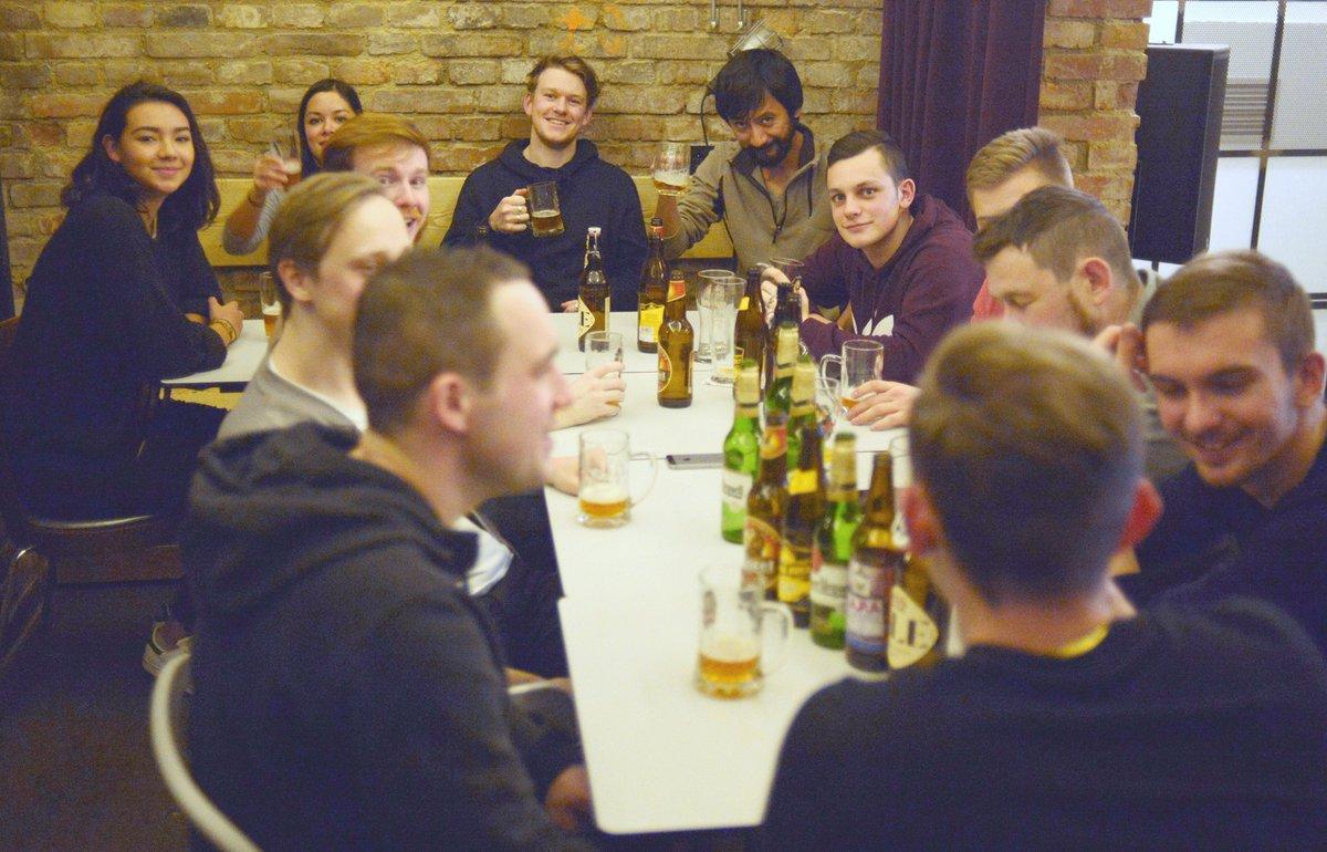 Tasting Czech #beer in our basement bar. Join us every Wednesday https://t.co/OCY1xu8JUg #hostel #prague https://t.co/fGNjiJKRB2