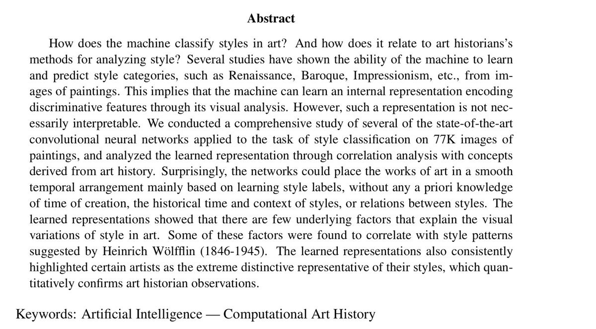 "an analysis of the style of artist Iconography, iconology and style analysis gombrich""s idea of style as an artist""s tool for schematizing nature in."