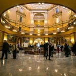 There will be Cats in the Capitol! Grad students from universities across Kansas will be taking over the Rotunda tomorrow - showcasing their research to legislators, Kansas Board of Regents and the community.  https://t.co/UrJ2bFLjis