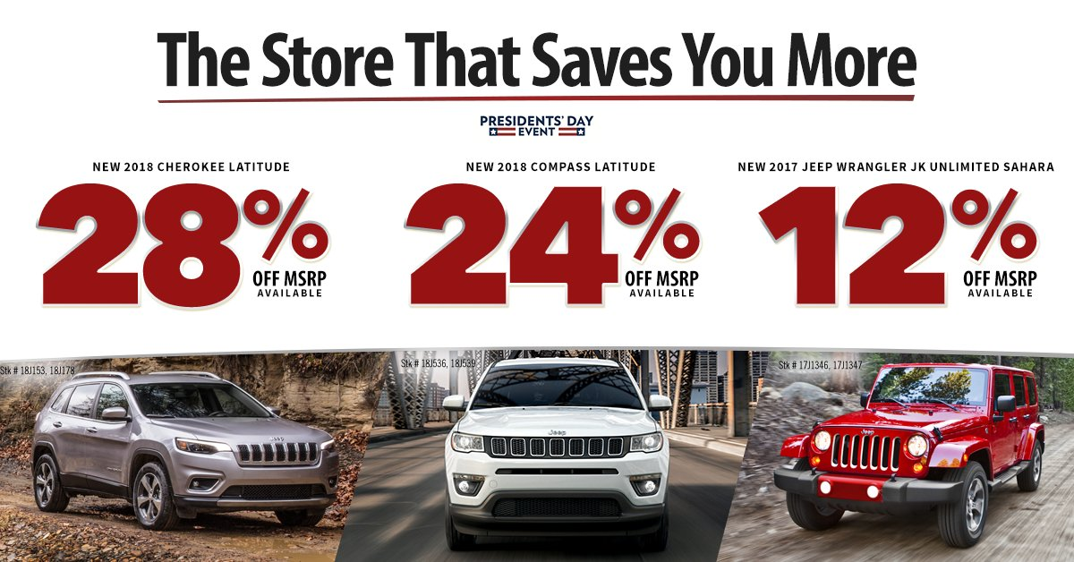 Elegant Donu0027t Miss Our Presidentu0027s Day Savings Today At Ferman Chrysler Jeep Dodge  RAM Of New Port Richey. Http://bit.ly/2G7nq0P Pic.twitter.com/u5qgtTdeED