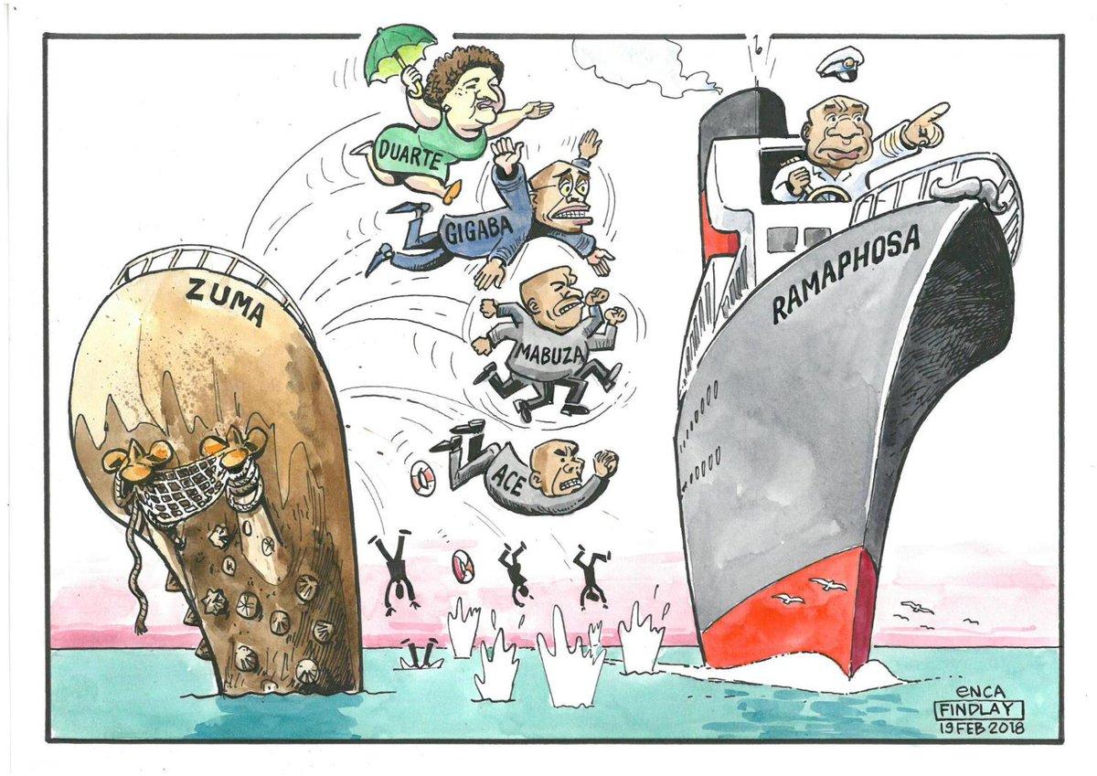 #eNCAcartoon by Findlay: Jumping Ship  https://t.co/61ZVUy0jw4 #ANC